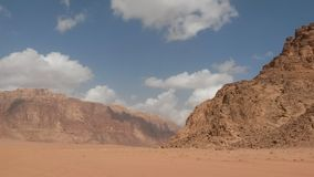 Wadi Rum landscape Royalty Free Stock Image