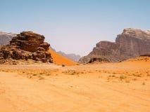 Wadi Rum Landscape Stock Images