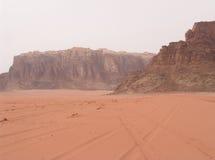 Wadi-Rum - März 2007 stockfotos