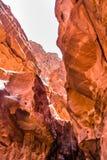 Wadi Rum maestoso, aka valle della luna fotografie stock libere da diritti