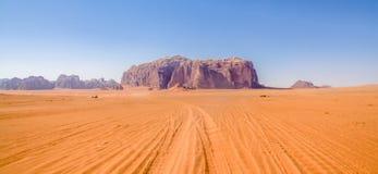 Wadi Rum maestoso, aka valle della luna immagini stock libere da diritti