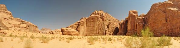 Wadi Rum Panorama Stock Photos