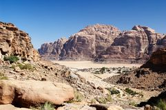 Wadi Rum village  Stock Photography