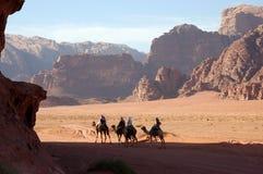 Wadi-Rum-Wüste, Jordanien Stockfoto
