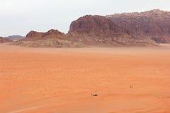 Wadi-Rumwüste Stockbilder