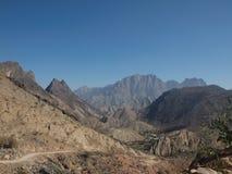 Wadi Shab, Omã Fotografia de Stock