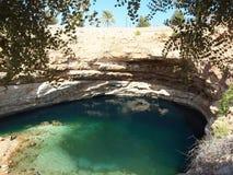 Wadi Shab, Omã Imagens de Stock