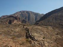 Wadi Shab, Omã Foto de Stock