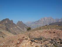 Wadi Shab, Oman immagine stock