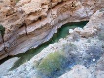 Wadi Shab, Oman Photo stock