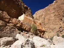 Wadi Shab, Oman Stock Afbeeldingen