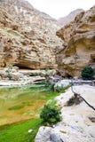 Wadi Shab Oman Stock Photos