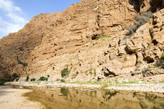 Wadi Shab Oman Stock Photography