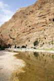 Wadi Shab Oman Stock Photography