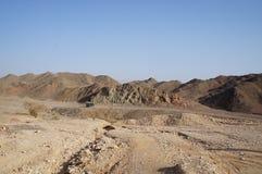 Wadi Shahamon nära Eilat Royaltyfri Bild