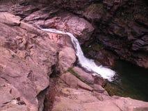 Wadi Tiwi Stockbild