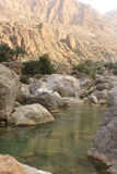 Wadi Tiwi Oman Stock Photo