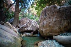 Wadi Lajab in Jizan Province, Saudi Arabia royalty free stock image