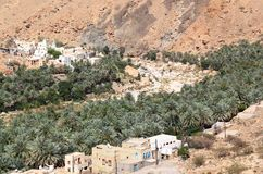 Wadi Village, Oman Stock Images