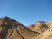 Wadi Zeelim. Deserto di Judean fotografie stock