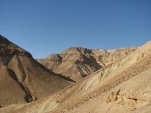 Wadi Zeelim. Deserto di Judean Immagine Stock Libera da Diritti