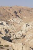 Wadiego Arugot rzeka, ein Gedi rezerwat przyrody, nieżywy morze, Izrael Obrazy Stock