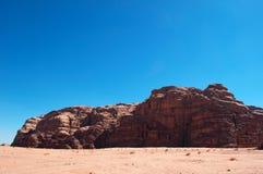 Wadiego rum dolina księżyc, Aqaba, Jordania, Środkowy Wschód Obrazy Stock