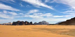 Wadiego rumu pustynia Fotografia Stock