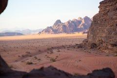 Wadiego rumu pustynia Zdjęcia Stock