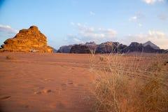 Wadiego rumu pustynia Zdjęcie Stock