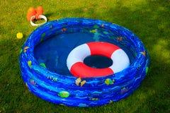 Wading бассейн на летний день Стоковое Изображение