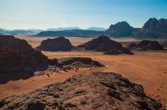 Wadirom i Jordanien Royaltyfri Fotografi