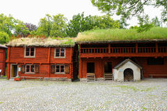 Wadkoping open air museum Royalty Free Stock Images