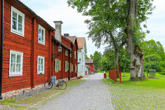 Wadkoping open air museum Royalty Free Stock Photography