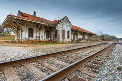 Wadley Train Depot Royalty Free Stock Photos