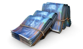 Wads Of Notes Pile Light Stock Photo