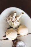 Wafelbroodjes Stock Foto's
