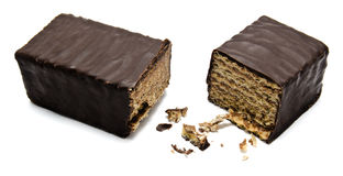Wafeltjechocoladereep Royalty-vrije Stock Foto