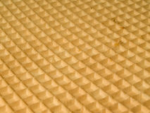 Wafer. The tasty wafer background - tilted camera Royalty Free Stock Image