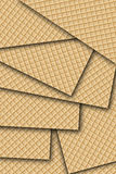 Wafer. Abstract desing background texture Royalty Free Stock Photo