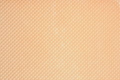 Wafer background with regular pattern. Golden wafer background with regular pattern Royalty Free Stock Photo