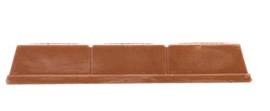 Wafer bar of chocolate. Stock Images