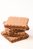 Wafer biscuits Stock Image