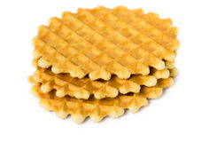 Wafer biscuits Royalty Free Stock Photos