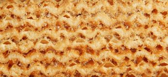 Wafer cake Stock Images