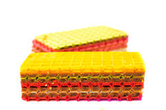 Wafer cakes Stock Images