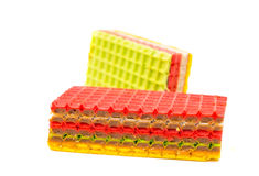 Wafer cakes Stock Image