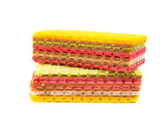 Wafer cakes Royalty Free Stock Image