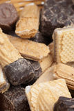 Wafer candy Stock Image