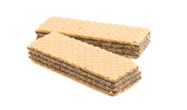 Wafer chocolate Royalty Free Stock Images